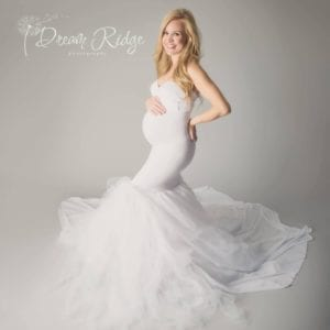 Tulle Maternity Gown